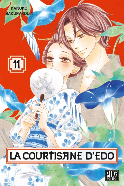 Couverture La courtisane d'Edo, tome 11