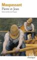 Couverture Pierre et  Jean Editions Folio  (Classique) 2017