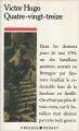 Couverture Quatrevingt-treize Editions Presses pocket 1988