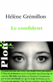 Couverture Le Confident Editions Plon 2010