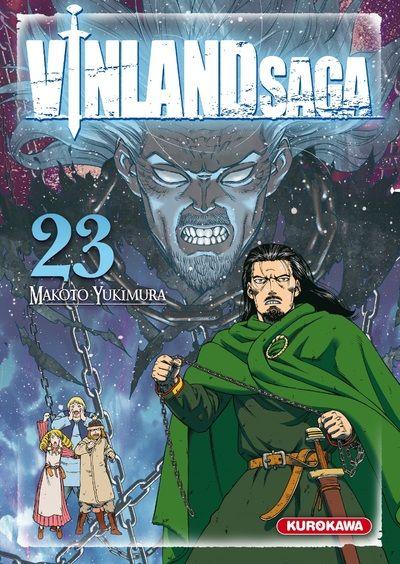 Couverture Vinland Saga, tome 23
