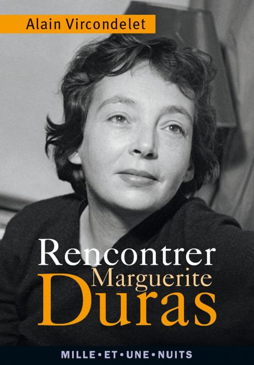 Couverture Rencontrer Marguerite Duras