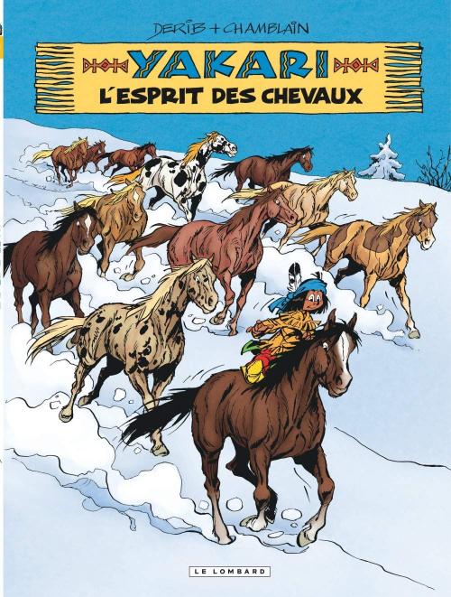 Couverture Yakari, tome 40 : L'Esprit des chevaux