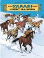 Couverture Yakari, tome 40 : L'Esprit des chevaux  Editions Le Lombard 2019