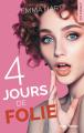 Couverture 4 jours de folie Editions Hugo & cie (New romance) 2020