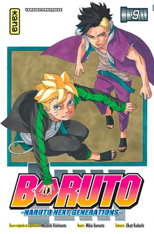 Couverture Boruto : Naruto next generations, tome 09
