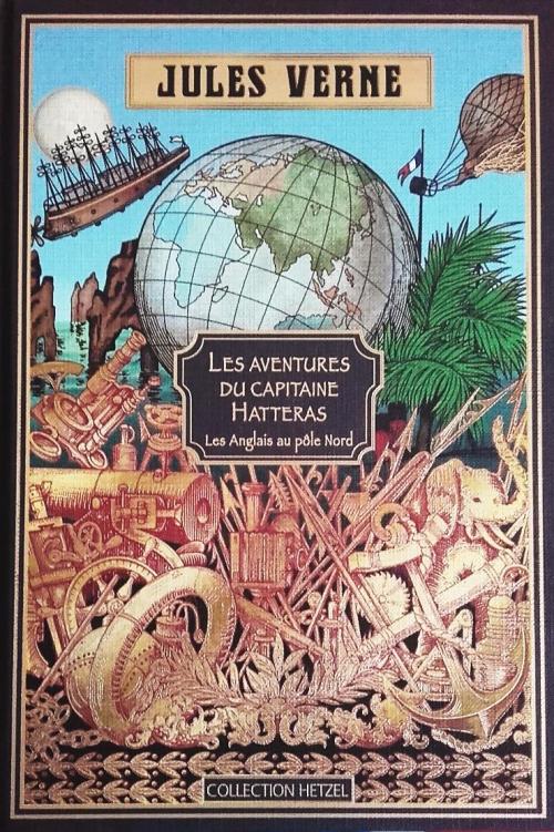 Couverture Aventures du capitaine Hatteras, tome 1 : Les Anglais au Pôle Nord