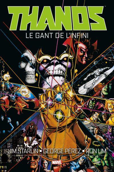 Couverture Thanos : Le Gant de l'Infini