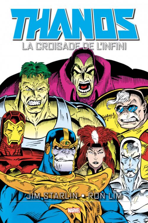 Couverture Thanos : La Croisade de l'Infini