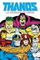 Couverture Thanos : La Croisade de l'Infini Editions Panini (Marvel Graphic Novels) 2019