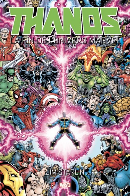 Couverture Thanos : La Fin de l'univers Marvel