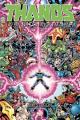 Couverture Thanos : La Fin de l'univers Marvel Editions Panini (Marvel Graphic Novels) 2019