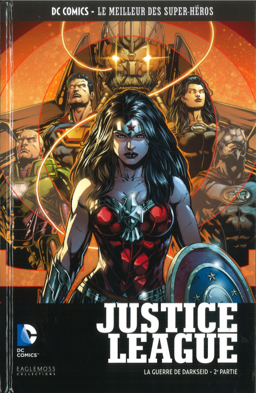 Couverture Justice League (Renaissance), tome 10 : La guerre de Darkseid, partie 2