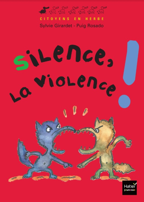 Couverture Silence, la violence !