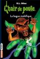 Couverture La bague maléfique Editions Bayard (Frisson) 2019