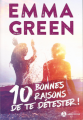 Couverture 10 bonnes raisons de te détester Editions Addictives (Adult romance) 2020