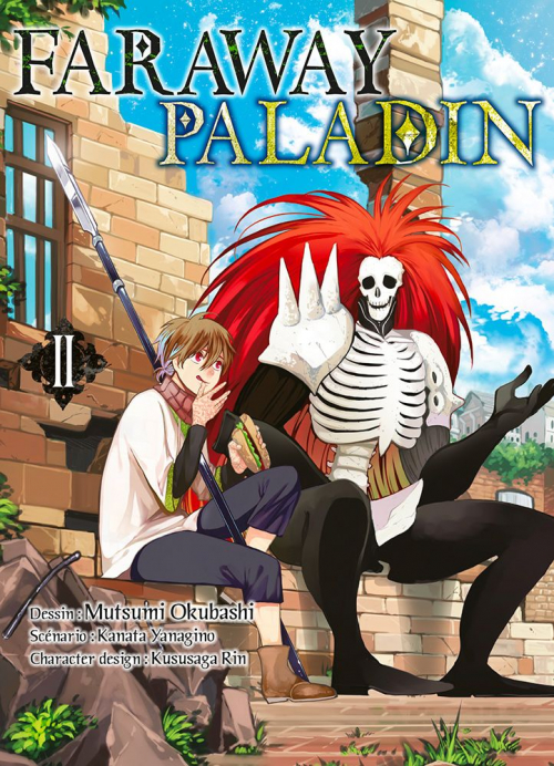 Couverture Faraway Paladin, tome 2
