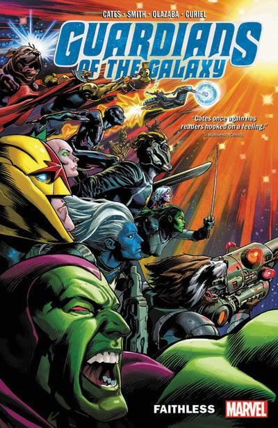 Couverture Guardians of the Galaxy, book 2: Faithless