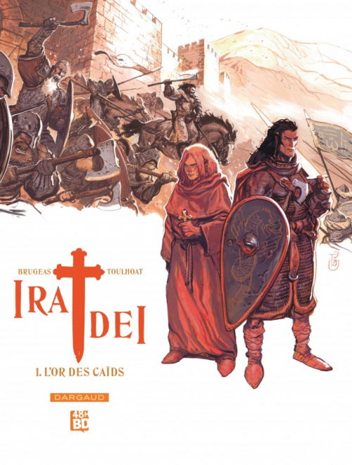 Couverture Ira Dei, tome 1 : L'or des caïds