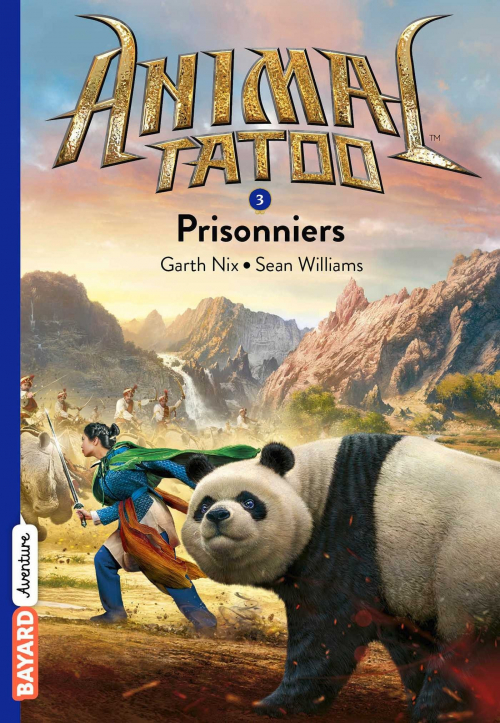 Couverture Animal Tatoo, tome 3 : Prisonniers
