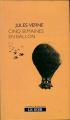 Couverture Cinq semaines en ballon Editions Paperview 2007