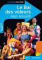Couverture Le bal des voleurs Editions Belin / Gallimard (Classico - Collège) 2012