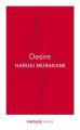Couverture Desire Editions Vintage 2017