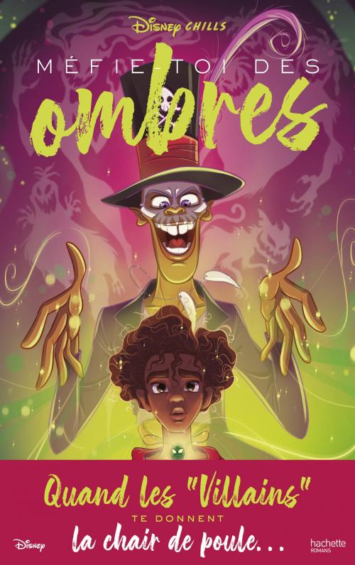 Couverture Disney Chills, tome 2 : Mefie-Toi des Ombres