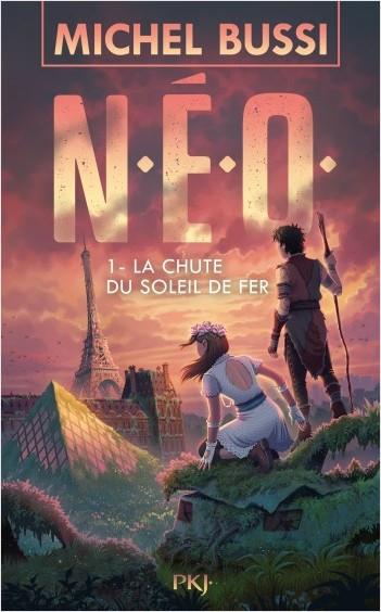 Couverture N. E. O., tome 1 : La chute du soleil de fer