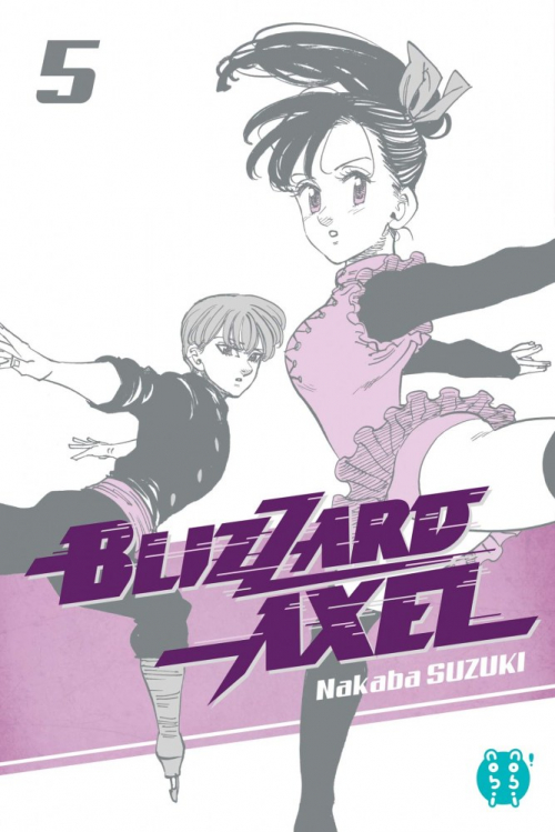 Couverture Blizzard Axel, tome 5