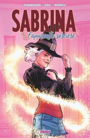 Couverture Sabrina l'apprentie sorcière