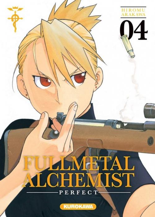 Couverture Fullmetal Alchemist, perfect, tome 04