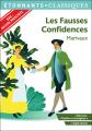 Couverture Les fausses confidences Editions Flammarion (GF - Etonnants classiques) 2020