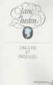 Couverture Orgueil et préjugés Editions Christian Bourgois  1994