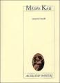 Couverture Médée Kali Editions Actes Sud (Papiers) 2003