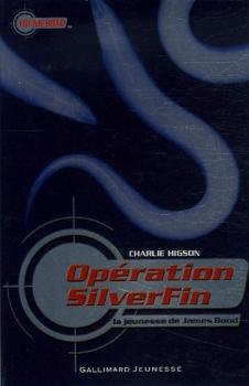Couverture La Jeunesse de James Bond, tome 1 : Opération SilverFin