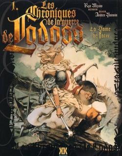 Couverture Les Chroniques de la guerre de Lodoss : La Dame de Falis, tome 1
