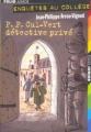 Couverture P.P. Cul-Vert détective privé Editions Folio  (Junior) 2005