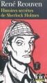 Couverture Histoires secrètes de Sherlock Holmes Editions Folio  (Policier) 2010