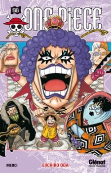 Couverture One Piece, tome 56 : Merci
