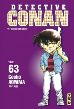 Couverture Détective Conan, tome 63