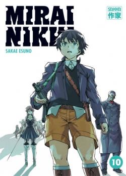 Couverture Mirai Nikki, tome 10