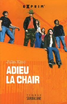 Couverture Adieu la chair