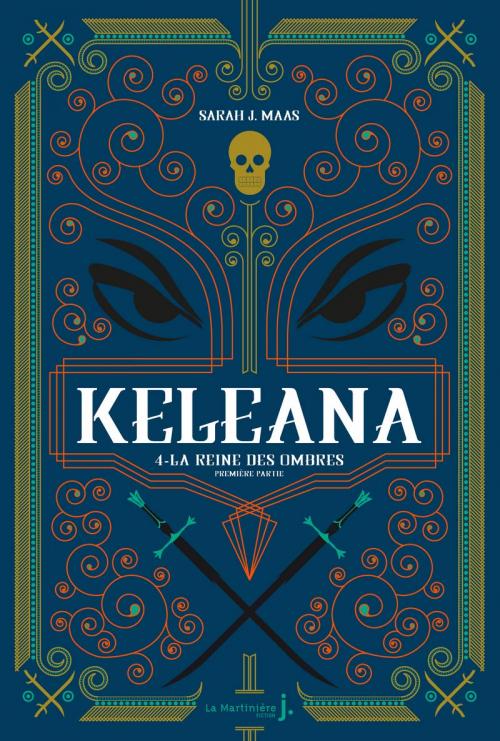 Couverture Keleana (La Martinière, 2020), tome 4 : La Reine des ombres, partie 1