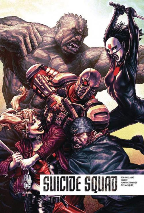 Couverture Suicide Squad Rebirth, tome 5 : Qui aime bien, châtie bien