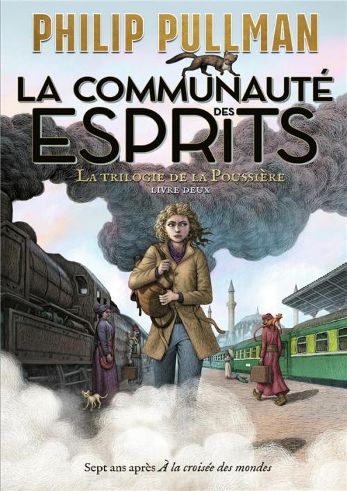 Couverture La trilogie de la poussière, tome 2 : La communauté des esprits