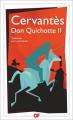 Couverture Don Quichotte, tome 2 Editions Flammarion (GF) 2016