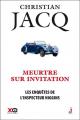 Couverture Les enquêtes de l'inspecteur Higgins, tome 05 : Meurtre sur invitation Editions XO 2016