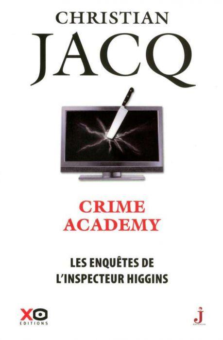 Couverture Les enquêtes de l'inspecteur Higgins, tome 06 : Crime academy