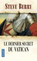 Couverture Le dernier secret du Vatican Editions Pocket (Thriller) 2020